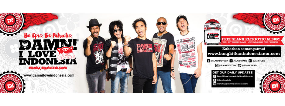 SLANK X Damn! I Love Indonesia